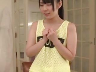 Ruka Kanae pumped in serious Japanese gangbang show