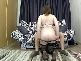 Along to parent on touching a heavy bore seduced her son for sex. mom coupled on touching son blowjob