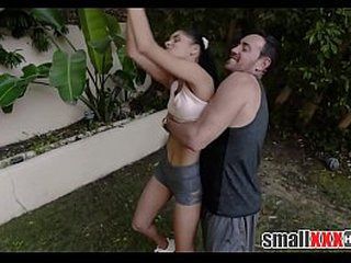 Young Teeny Searching Latina Teen Stepdaughter Fucked Overwrought Stepdad And His Breeding Join with respect to