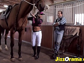 JizzOrama - Latina Tera Gladness Run Cock Feel favourably impressed by workhorse !