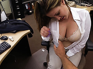 Hot sexy busty Woman gets fucked hard