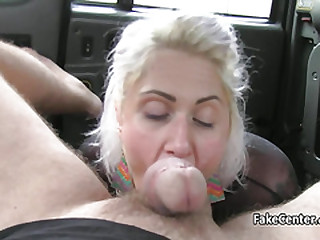 Dishonest anal for chubby milf yon cab