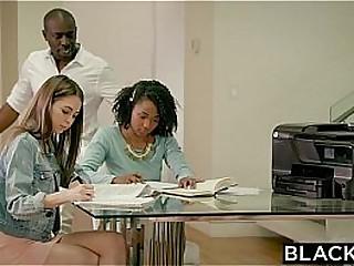 BLACKED Petite Riley Reid Tries Huge Black Cock Forth Her Ass