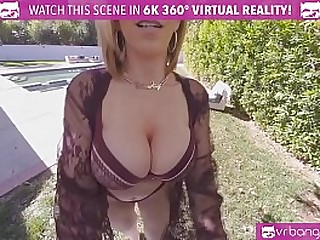 VR BANGERS Naughty MILF Needs Young Boy's Load of shit
