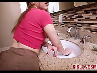 Hot Teen gets fucked increased by shes stuck in a sink increased by cant get away